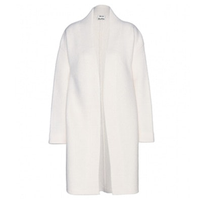 Hava Boiled Off White Coat