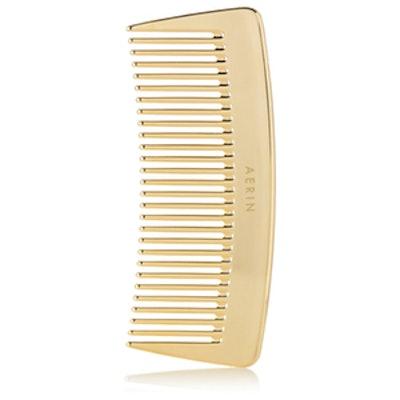 Travel Gold-Tone Comb