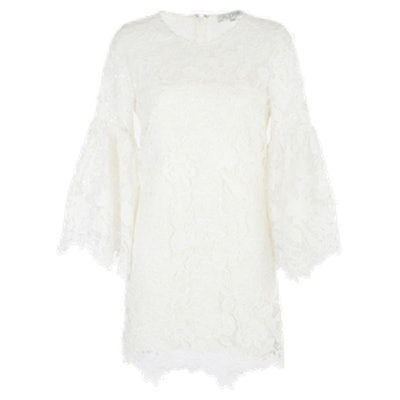 Exclusive Bell Sleeve Lace Dress