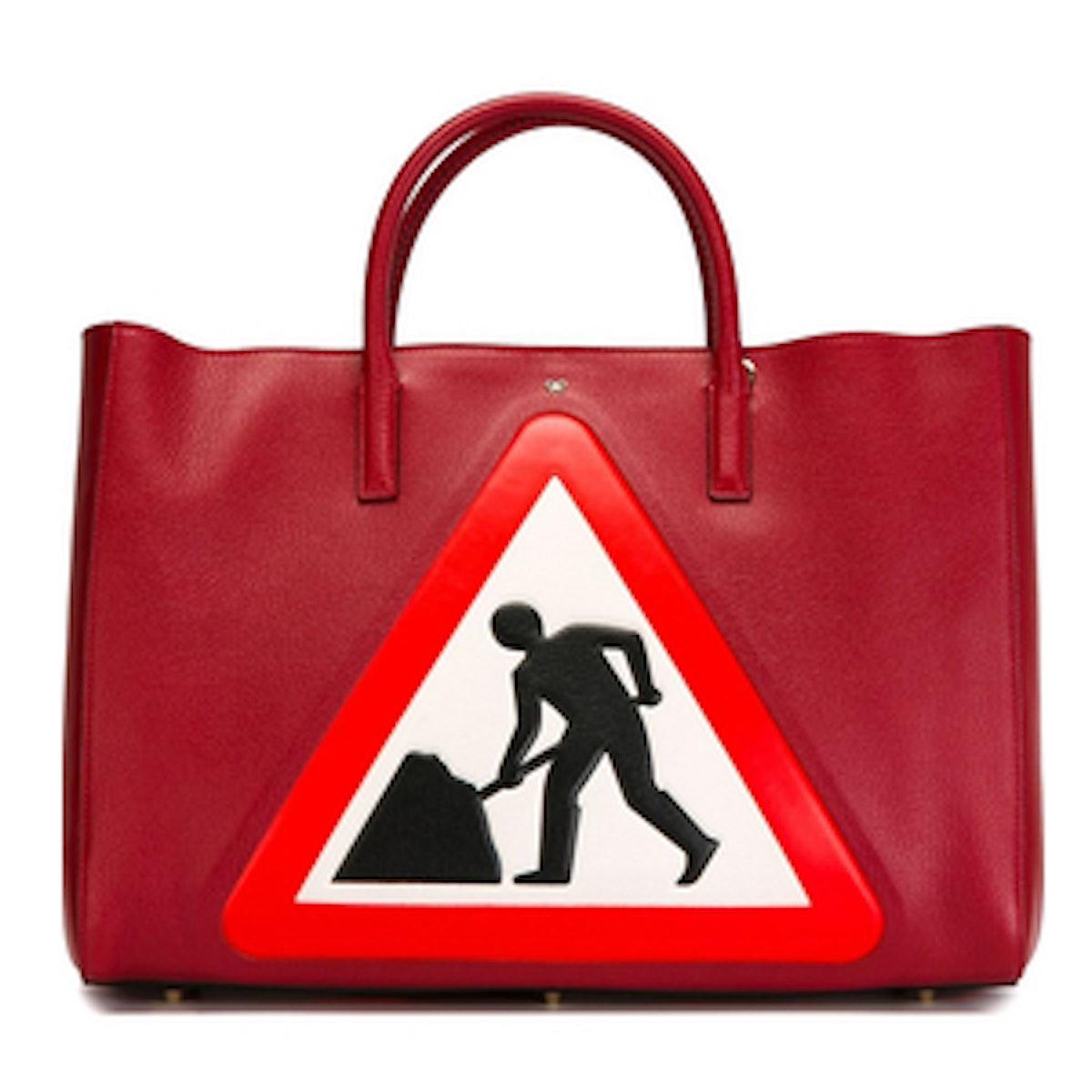 Road Sign Tote Bag