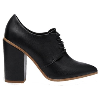 Lace Up Heeled Shoes
