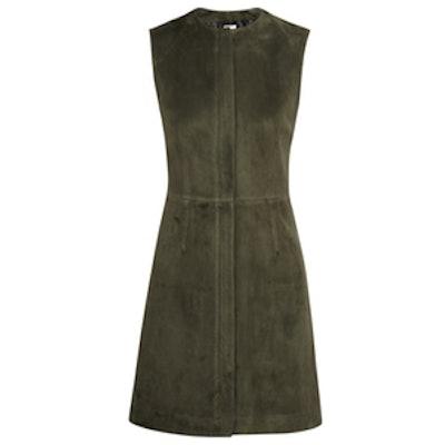 Suede Mini Dress
