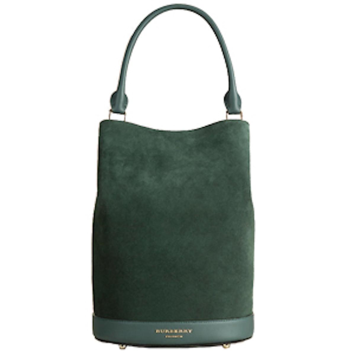 The Bucket Bag in Racing Green