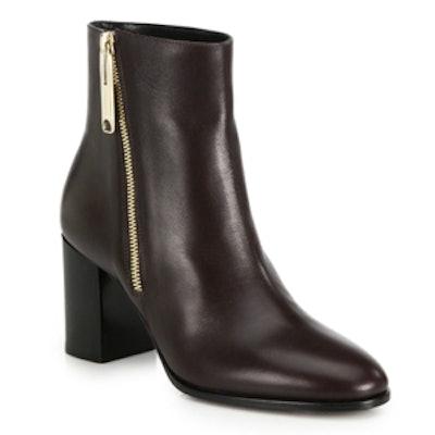Allen Leather Booties