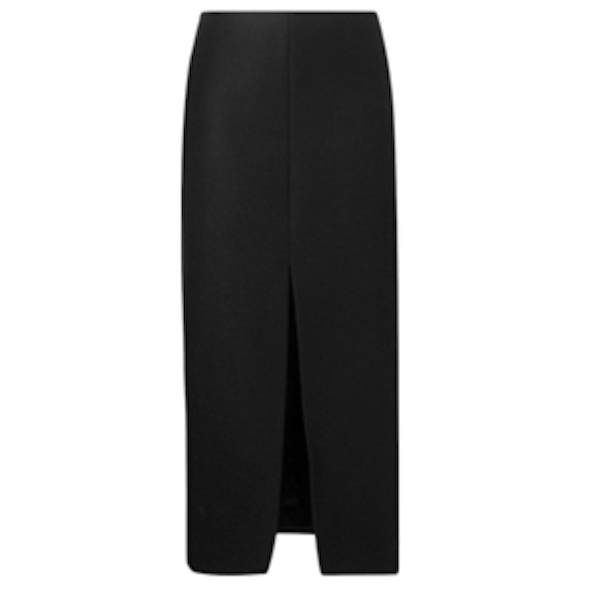 Long Front Slit Skirt