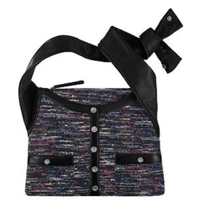 Tweed and Lambskin Girl Bag
