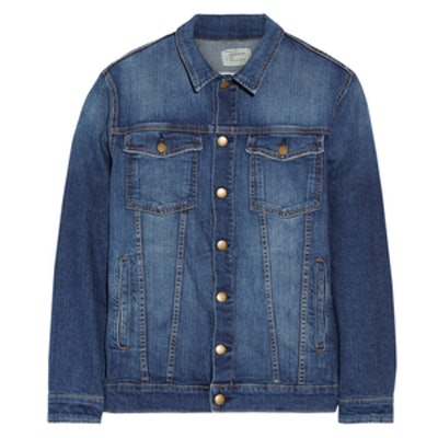 The Oversized Trucker Denim Jacket
