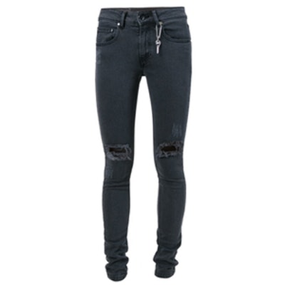 Flash Frayed Holes Jeans
