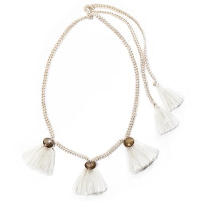 Maya Cream Necklace