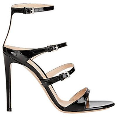 Carey Triple-Strap Sandals