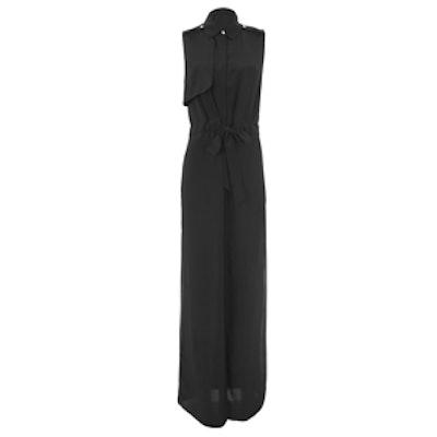 Cut Out Back Sleeveless Maxi Dress
