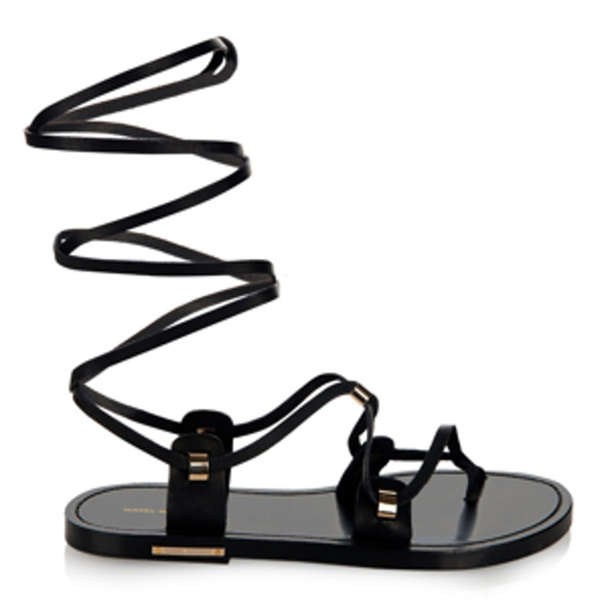 Anil Wraparound Leather Sandals