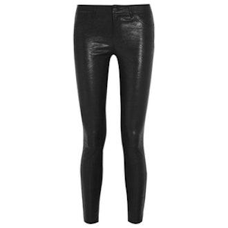 8001 Leather Skinny Pants