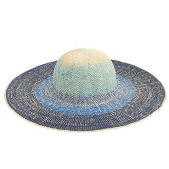 Ombré Straw Sun Hat