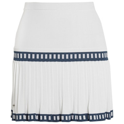 Medea Pleated Stretch-jersey Skirt
