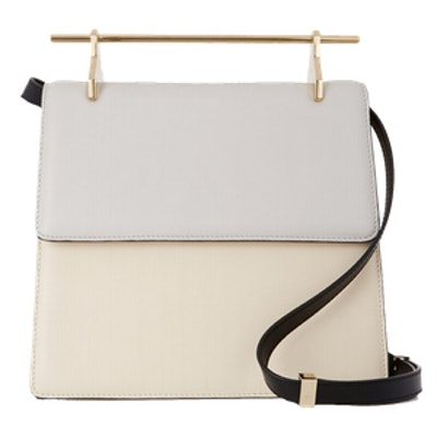 La Collectionneuse Leather Shoulder Bag
