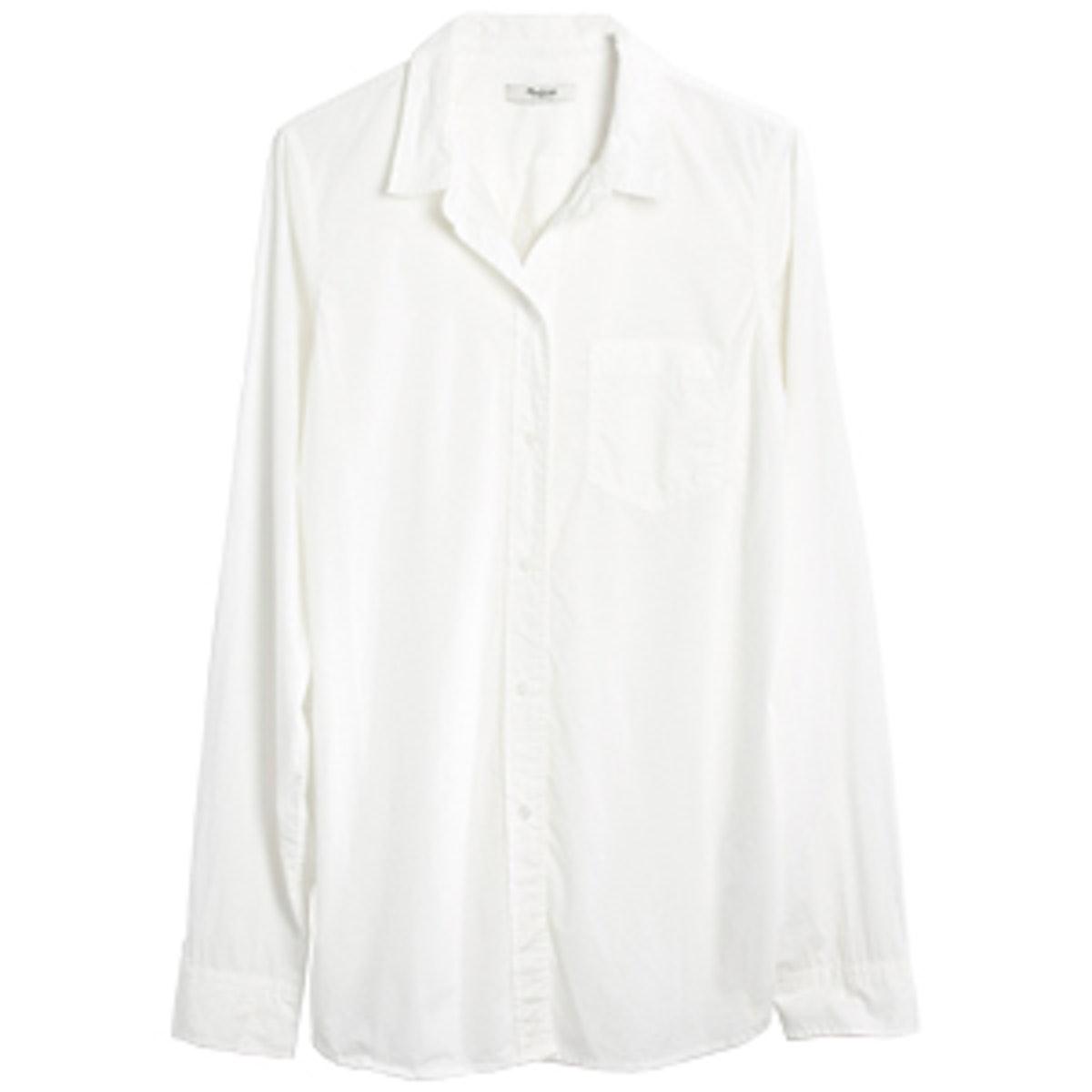 Slimboy Shirt in Pure White