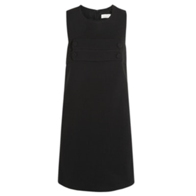 Ballade Wool-Blend Crepe Mini Dress