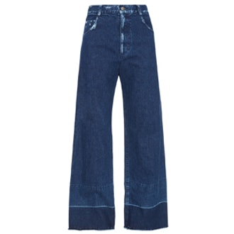 Legion Wide-Leg Cropped Jeans