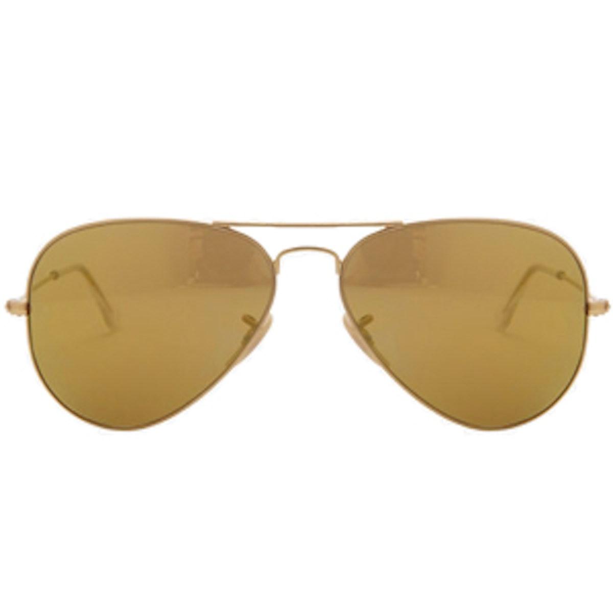 Gradient Lenses Aviator Sunglasses