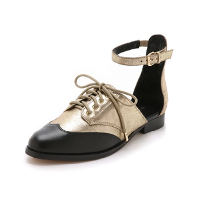 Maddie Ankle Strap Oxfords