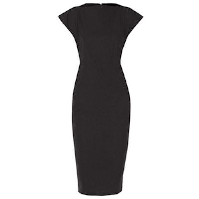Ala Level Paneled Stretch-Cady Midi Dress