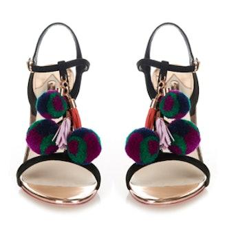 Layla Pom-Pom Sandals