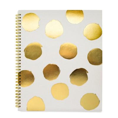 Large Polka-Dot Notebook