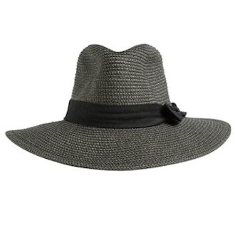 Rusty Gisele Straw Hat