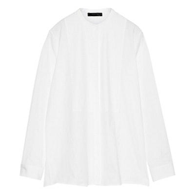 Nova Stretch-Cotton Poplin Shirt