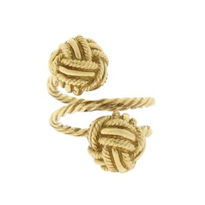 Vintage Schlumberger Knot Ring in 18K Gold