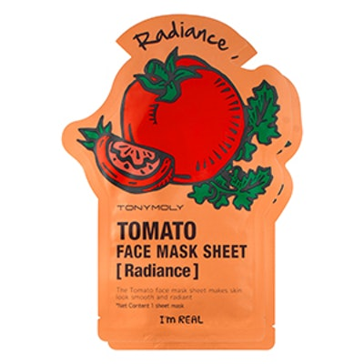I'm Real Tomato Face Mask Sheet For Radiance