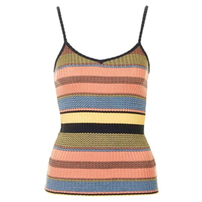 Knitted Stripe Cami