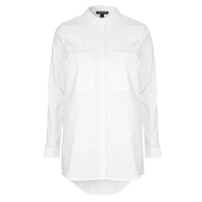 Cotton Double Pocket Shirt