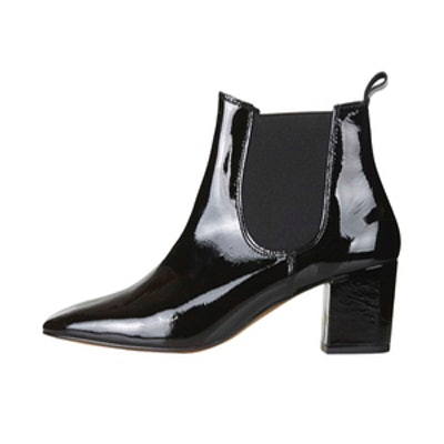 '60s Patent Chelsea Boots