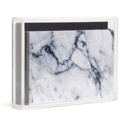 Textured Marble Acrylic Box Set