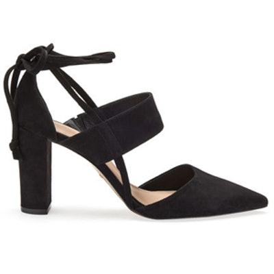 Azara Ankle Tie Point Shoe