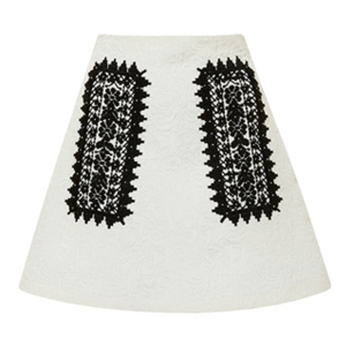 A-Line Skirt With Embroidery