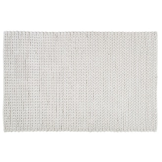 Wright Braided Rug in Ivory