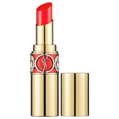 Rouge Volupte Shine Lipstick in Coral Incandescent