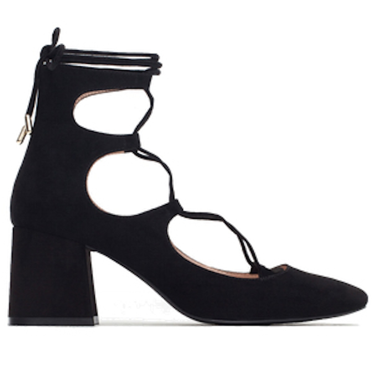 Lace-Up Heeled Shoes