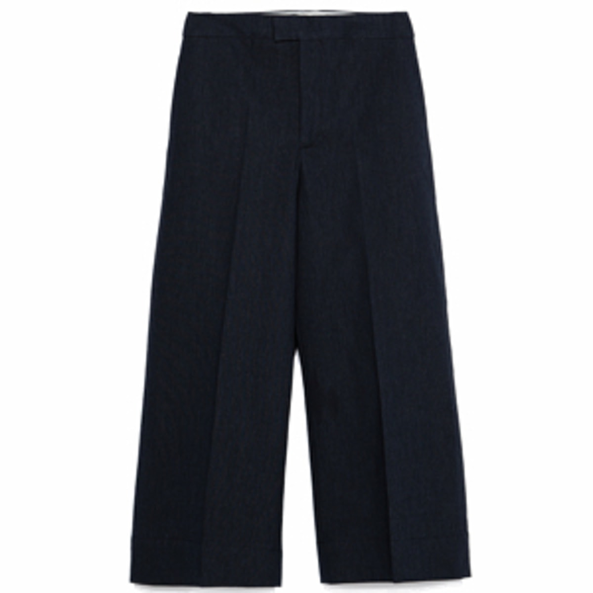 Cropped Trousers in Indigo