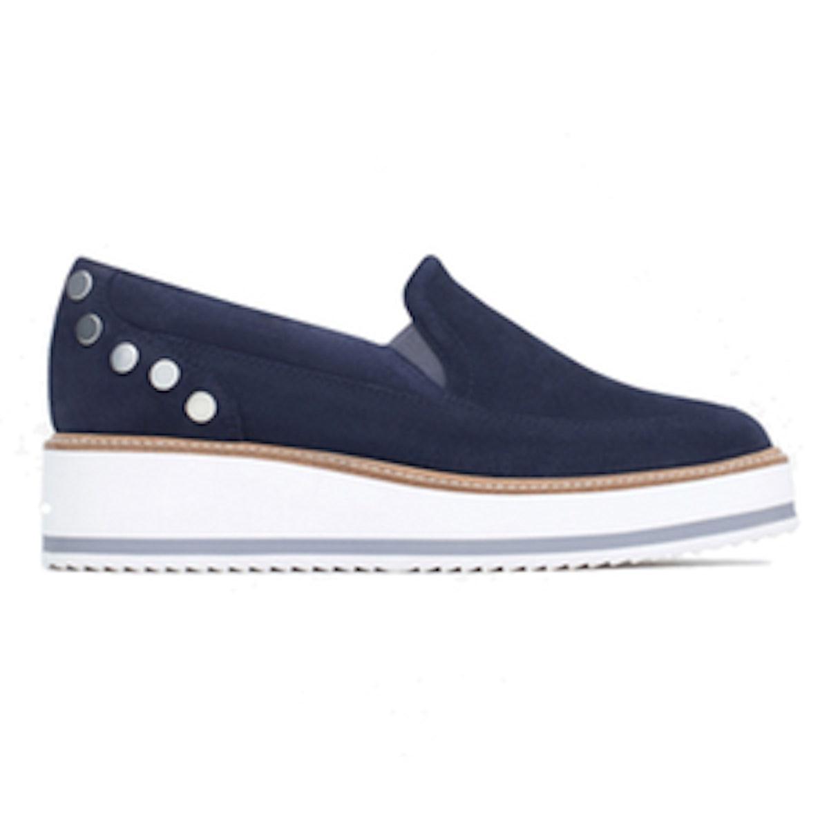 Suede Platform Shoes