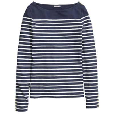 Boat-Neck Top