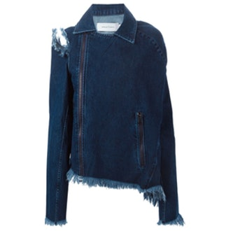 Frayed Denim Jacket