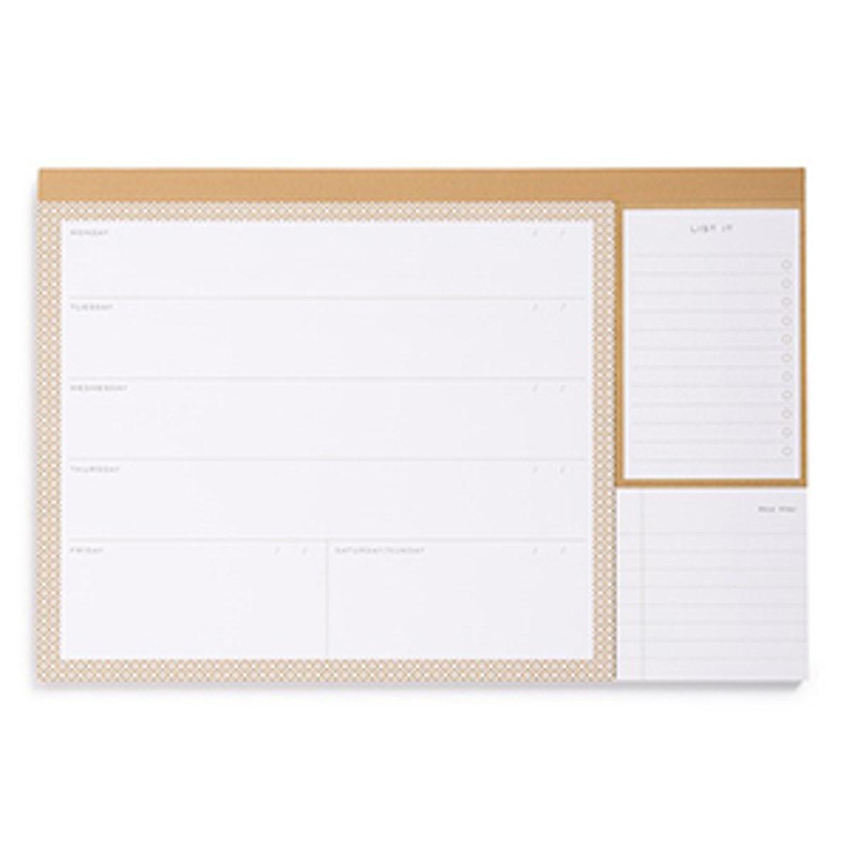 Calendar Desk Jotter