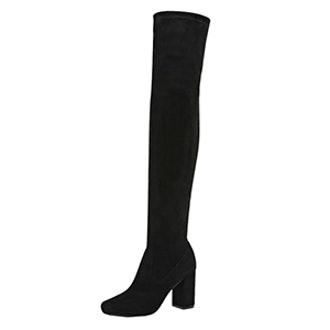 Black Over The Knee Boot
