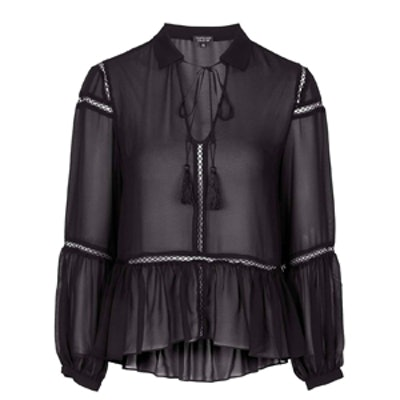 Sheer Poet Blouse