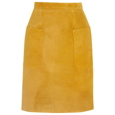 Angie Suede Skirt