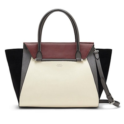 Addy Color-Blocked Winged Satchel